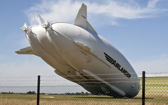 Airlander 10: Longest aircraft tested after crash repairs