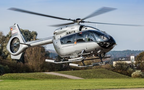 Airlift took the delivery of Greece's first H145