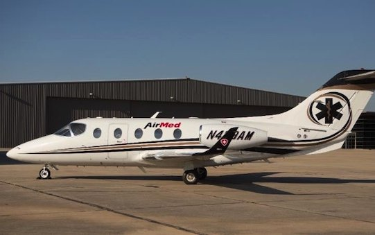 AirMed International Base in San Antonio Adds Nextant 400XTi Medical Transport