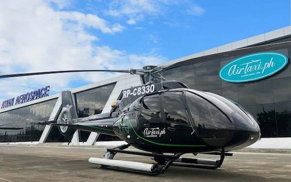 AirTaxi.ph takes delivery of its first H130 for tourism charters in the Philippines