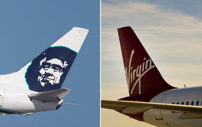 Alaska Air buys Virgin America for $2.6 billion