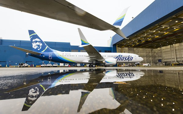 Alaska Airlines took delivery of its first Boeing 737-9 MAX and started passenger service