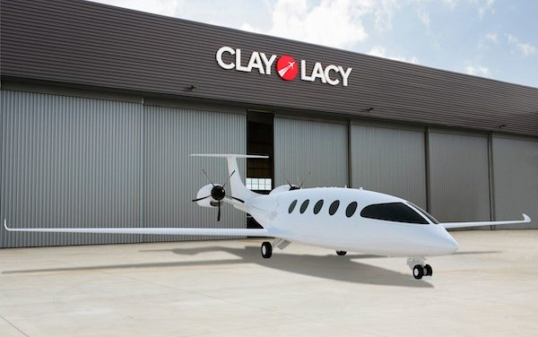 Alice all-electric aircraft charging stations - Eviation Partners with Clay Lacy Aviation