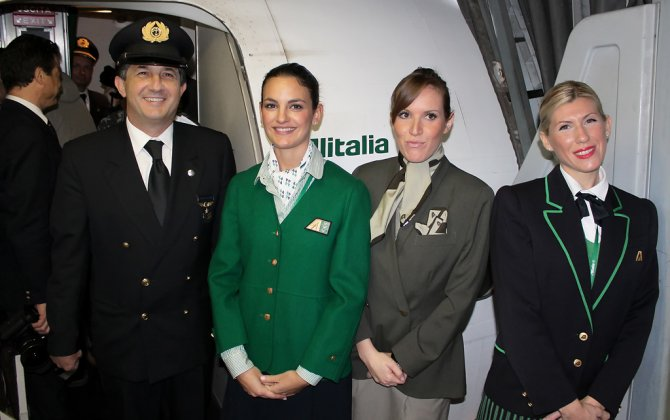 Alitalia will support 75,700 jobs in Italy in 2016; €4.7 billion benefit to national economy