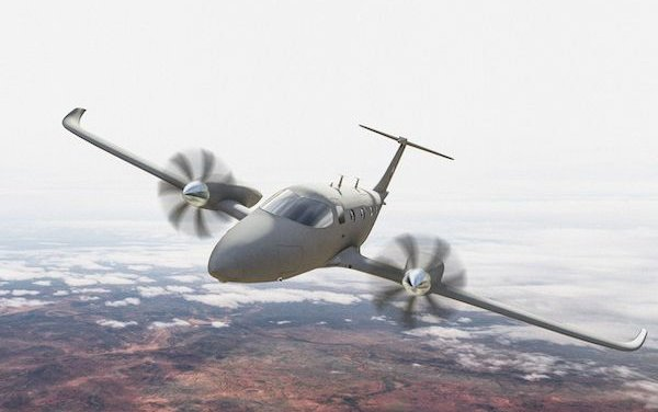 All-Electric multi-mission eFlyer 800 aircraft - L3Harris Technologies & Bye Aerospace