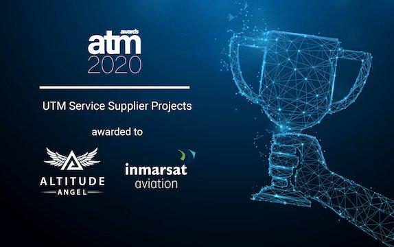 Altitude Angel and Inmarsat ground-breaking pop-up UTM wins 2020 ATM Award