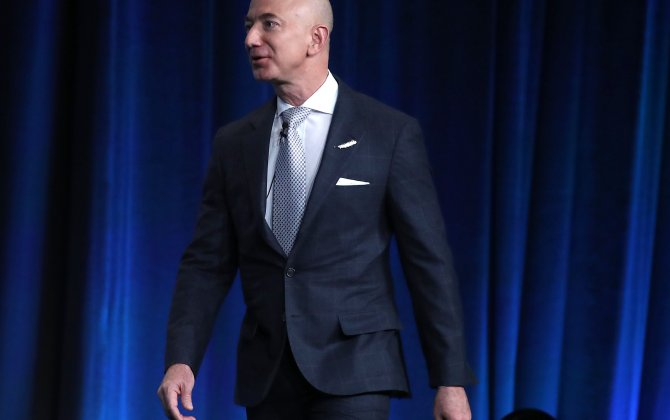 Amazon's CEO Will Sell $1 Billion in Stock Annually to Fund His Space Travel Company