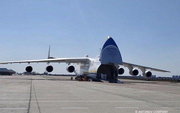 AN-225 Mriya delivered medical equipment to Ukraine