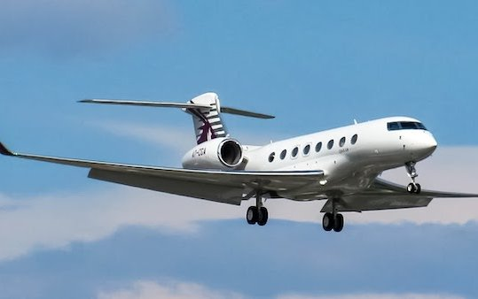 An Attempt of World Circumnavigation Speed Record on Qatar Executive Gulfstream G650ER Aircraft