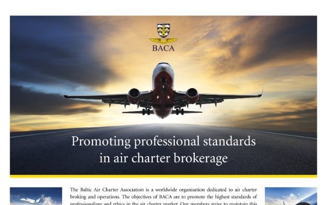 An illegal charter case and verdict was commented by BACA