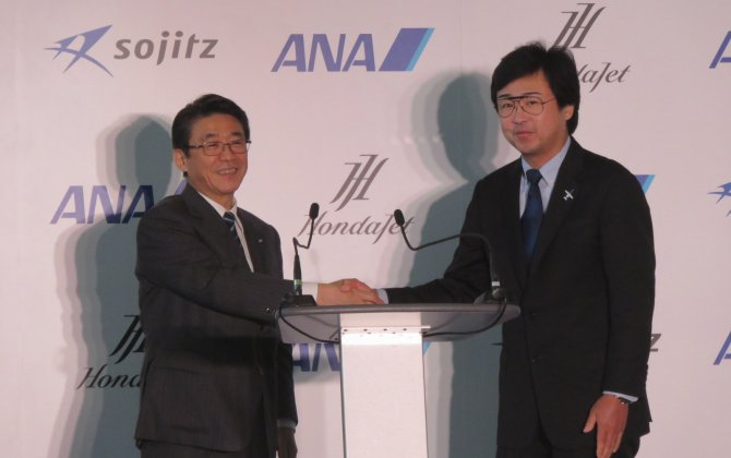 ANA Holdings and Honda Aircraft Company announce strategic partnership to expand business jet market