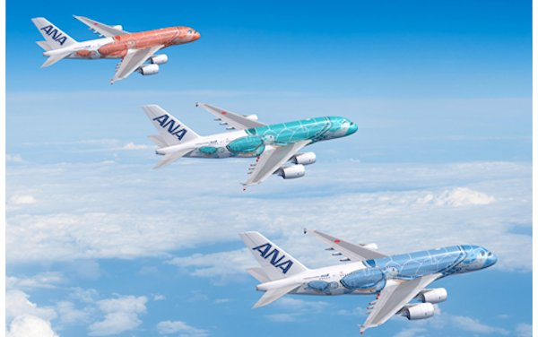 ANA Third FLYING HONU A380 expanding its Fleet for the Narita-Honolulu Route