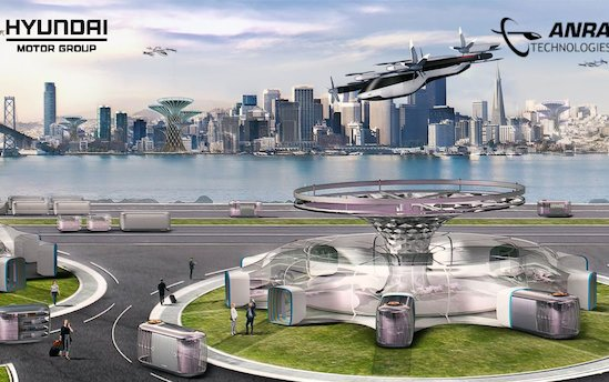 ANRA Technologies partners with Hyundai UAM division to develop advanced air mobility technologies