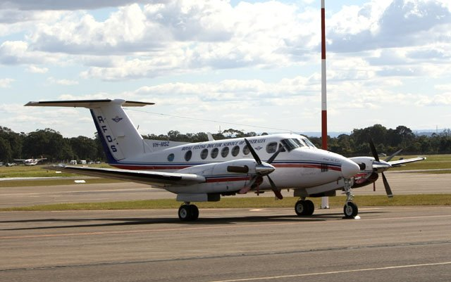 Ansett Aviation and Universal Training partner to offer RFDS Qld King Air flight training