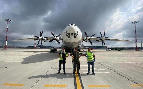 Antonov Airlines transported urgent cargo for deep-sea repair works