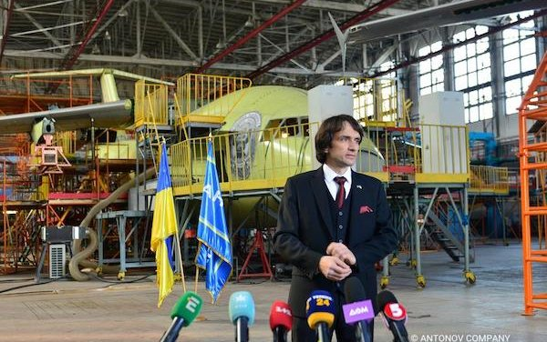 Antonov Company completed JIG assembly of AN-178 airframe
