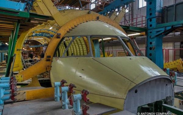 ANTONOV COMPANY started general assembly of the AN-178 fuselage for Peru