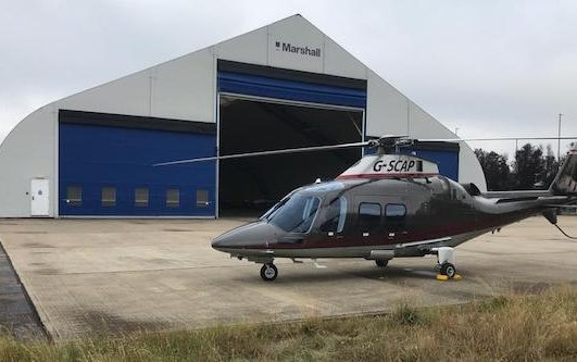 Apollo Air Services is set up at Cambridge City Airport