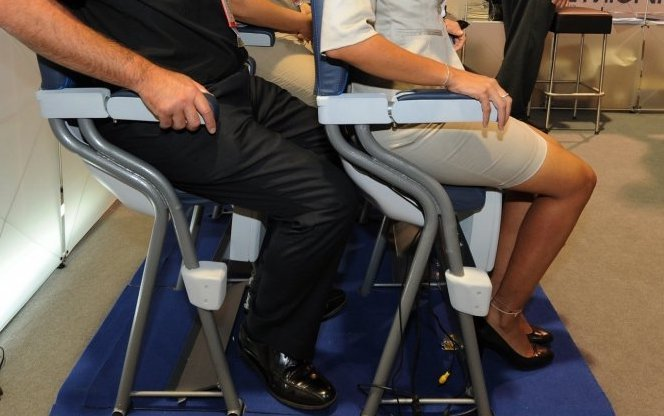 Are Standing Airline Seats the Future of Increasing Seating Capacity?