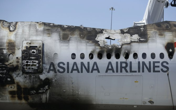 Asiana To Pay San Francisco $3.45 Million For Their 2013 Crash