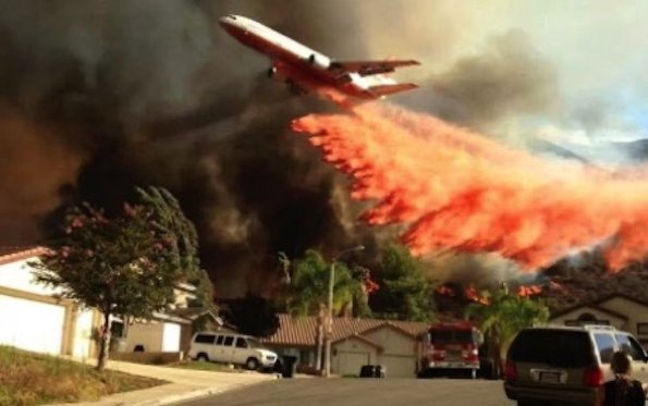 Astronics Enhanced Vision STC approved for aerial firefighting on DC 10 Air Tankers