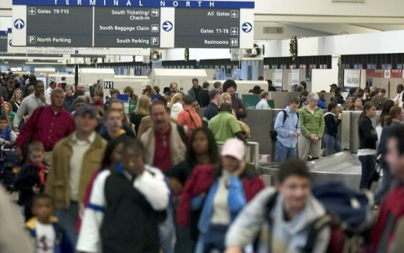 Atlanta airport evacuated after bomb scare