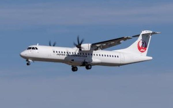 ATR 72 ready to fly in Japan