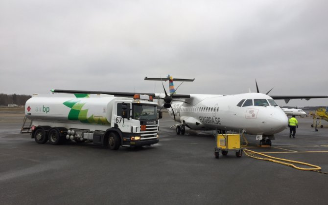 ATR and Sweden's BRA perform first ATR biofuel flight