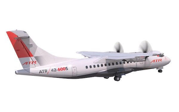 ATR launches STOL ATR 42-600S aircraft
