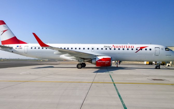 Austrian Airlines Celebrates Two Million Embraer Passengers