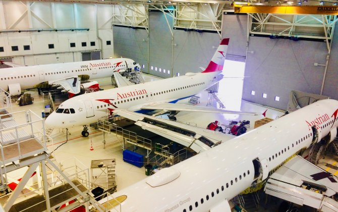Austrian Airlines expands its presence in Magnetic MRO hangars
