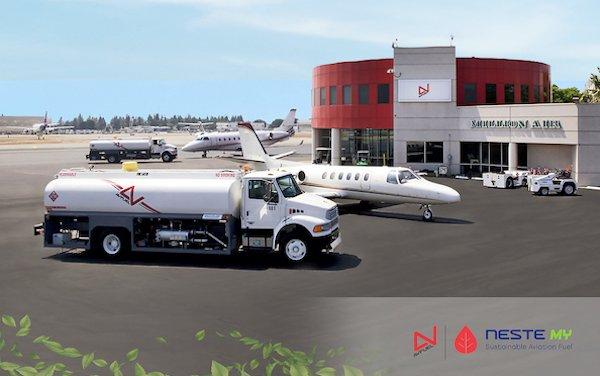 Avfuel supplies Million Air BUR with SAF