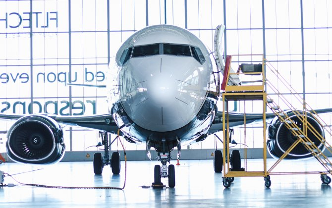 AviaAM Leasing delivers Boeing 737 business jet for KlasJet