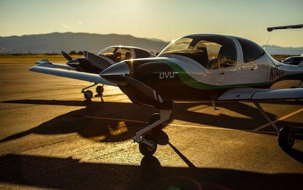 Aviation Program of Utah Valley University upgrades to new Diamond DA40 fleet