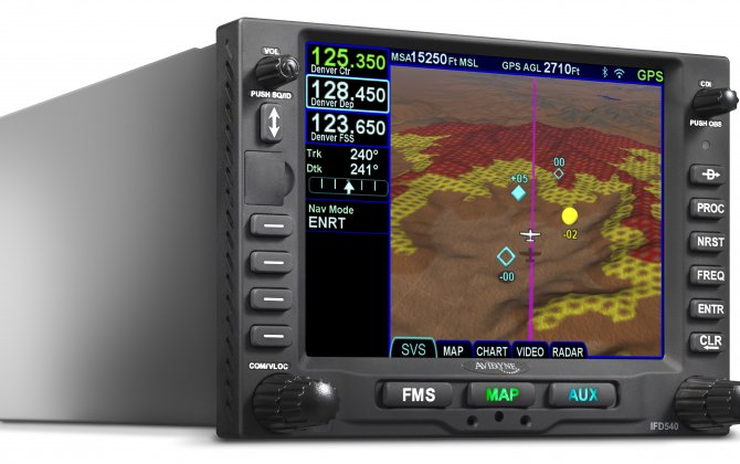 Avidyne receives European certification of IFD540 and IFD440 GPS FMS systems