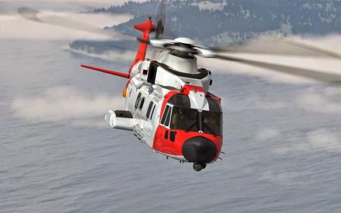 AW101 Norwegian all-weather SAR helicopter unveiled