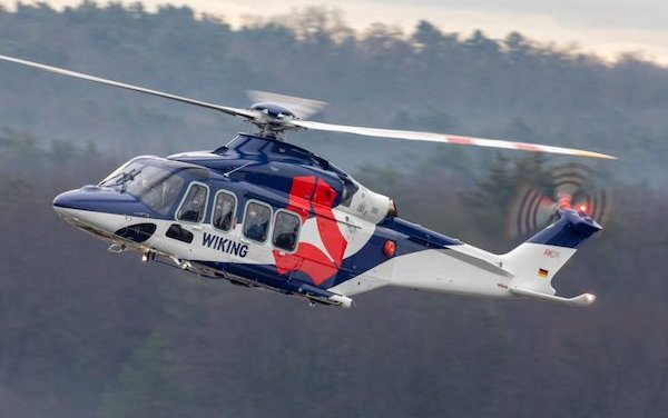 AW139 offshore fleet grows further with new delivery to WIKING Helikopter Service