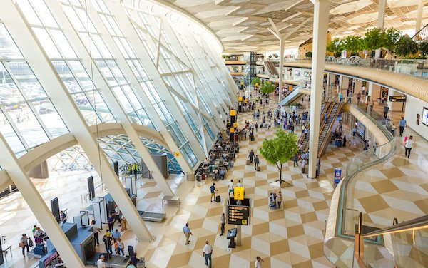 Azerbaijan's international airports served 2.4 million passengers in the first six months of 2019