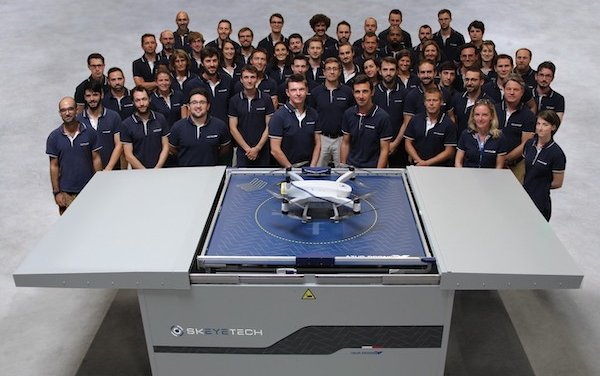 Azur Drones integrates with Microsoft Azure to benefit from  the power of data for autonomous drone operations