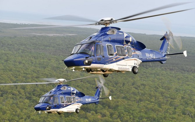 Babcock introduces two H175s to the Southern Hemisphere