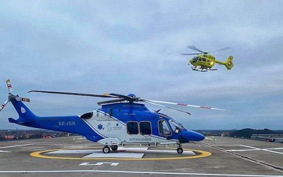 Babcock Scandinavian Air Ambulance opts for EMS from AUK Protection