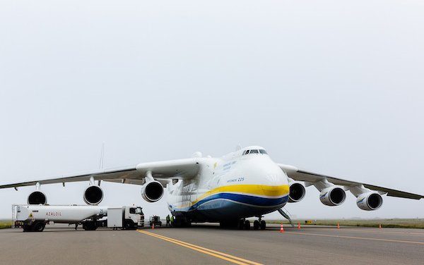 Baku welcomed the largest aircraft in the world