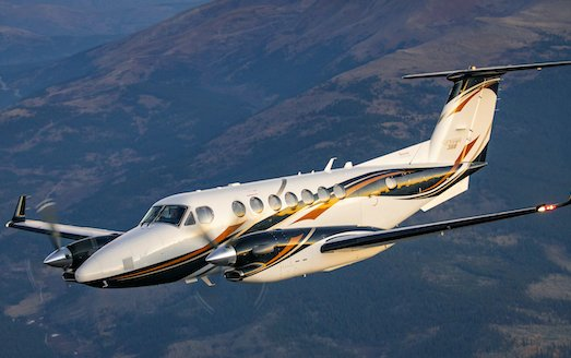Beechcraft King Air 360 officially entered service with the first delivery