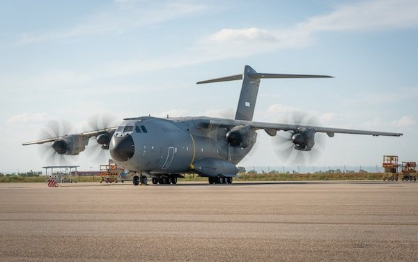 Belgian Air Force took delivery of its first A400M
