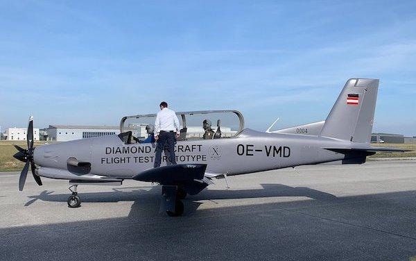 Belgian Defence trials DART Basic Trainer