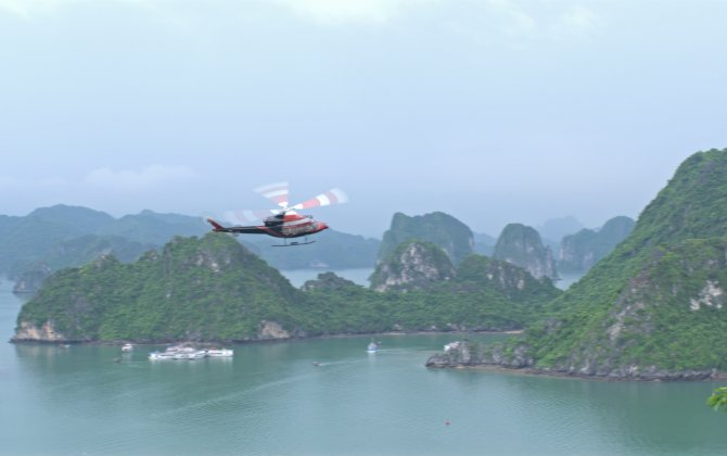 Bell 412EPI makes big impression in Vietnam