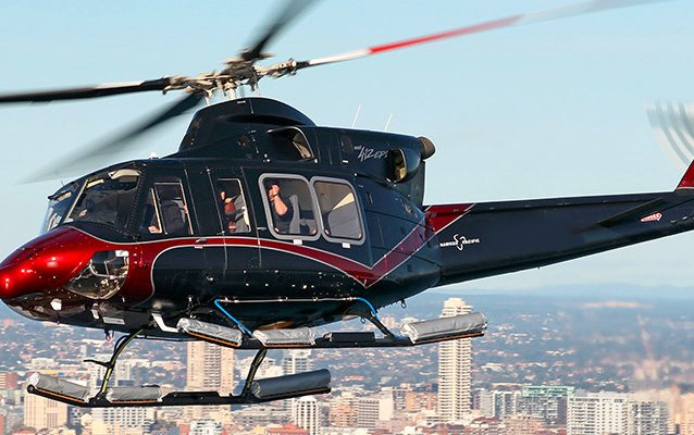 Bell 412EPI takes off on five month demonstration tour across Asia Pacific