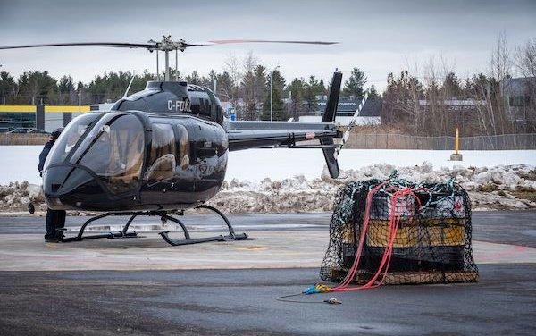 Bell 505 cargo hook is EASA certified