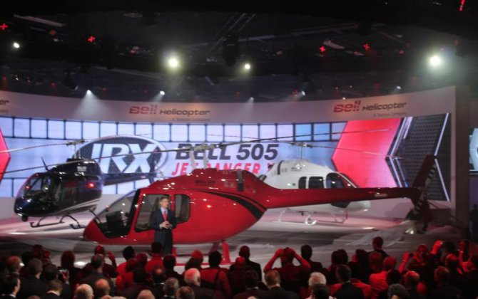 Bell 505 Jet Ranger X signed for operation in Bolivia
