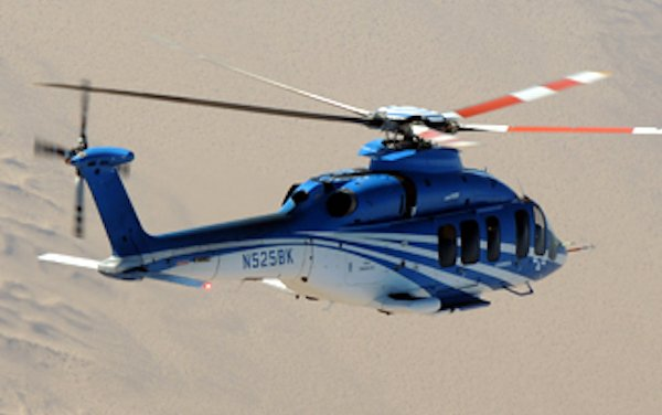Bell 525 completes hot weather testing